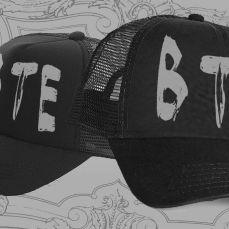 B.T.E. Hat T-Shirt/Apparel €7.50 EUR | Buy it here: https://beyondtheexistence.bandcamp.com/merch/b-t-e-hat