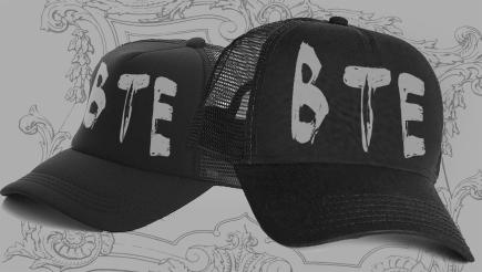 B.T.E. Hat T-Shirt/Apparel €7.50 EUR | Buy it here: https://beyondtheexistence.bandcamp.com/merch/b-t-e-hat